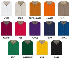Ladies SS Easy Care Twill Woven Shirts
