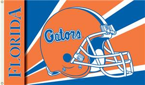 COLLEGIATE Florida Gators Helmet 3&#39; x 5&#39; Flag