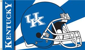 COLLEGIATE Kentucky Wildcats Helmet 3' x 5' Flag
