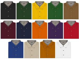 Men's Long Sleeve Twill Woven Shirts