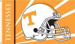 COLLEGIATE Tennessee Helmet 3' x 5' Flag