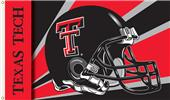 COLLEGIATE Texas Tech Helmet 3' x 5' Flag