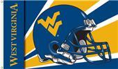 COLLEGIATE West Virginia Helmet 3' x 5' Flag