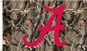 COLLEGIATE Alabama Realtree Camo 3' x 5' Flag