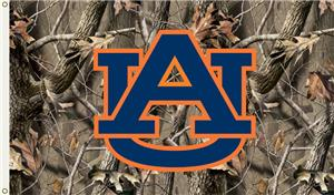 COLLEGIATE Auburn Realtree Camo 3&#39; x 5&#39; Flag