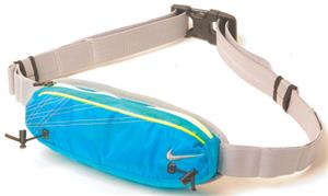 NIKE Grey Lightweight Running Slim Waistpack