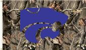 COLLEGIATE Kansas State Realtree Camo 3' x 5' Flag