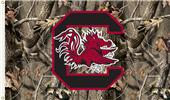 COLLEGIATE S. Carolina Realtree Camo 3' x 5' Flag