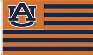 COLLEGIATE Auburn Stripes 3&#39; x 5&#39; Flag