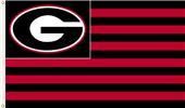 COLLEGIATE Georgia Stripes 3' x 5' Flag