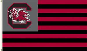 COLLEGIATE South Carolina Stripes 3' x 5' Flag