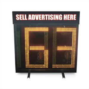 "Jugs 24"" Wireless Readout Baseball Radar Display"