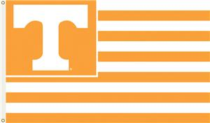 COLLEGIATE Tennessee Stripes 3' x 5' Flag