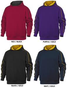 Baw Adult Contrast Hooded Sweatshirts