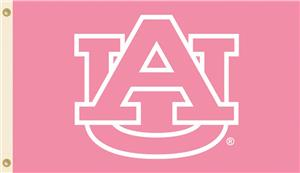 COLLEGIATE Auburn PINK 3&#39; x 5&#39; Flag