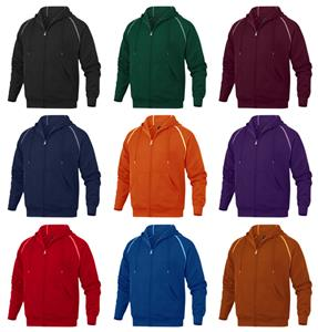Baw Adult Full-Zip Hooded Sweatshirts