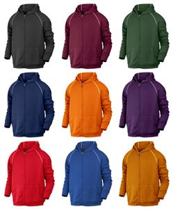 Baw Youth Full-Zip Hooded Sweatshirts