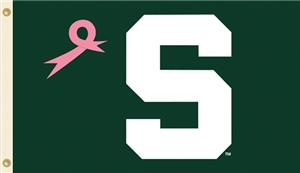 COLLEGIATE Michigan State PINK 3' x 5' Flag