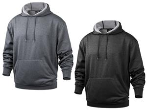 Baw Men's Heather Pullover Hooded Sweatshirts