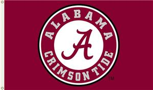 "COLLEGIATE Alabama Circle ""A"" 3' x 5' Flag"
