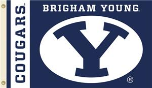 COLLEGIATE Brigham Young Cougars 3&#39; x 5&#39; Flag