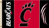 COLLEGIATE Cincinnati Bearcats 3' x 5' Flag