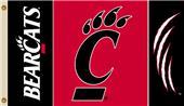 COLLEGIATE Cincinnati Bearcats 3' x 5' Flag