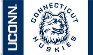 COLLEGIATE Connecticut Huskies 3' x 5' Flag