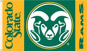 COLLEGIATE Colorado State Rams 3&#39; x 5&#39; Flag