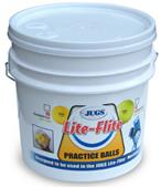 LITE-FLITE BUCKET of Baseballs or Softballs  B5001