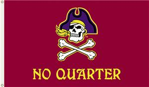 COLLEGIATE East Carolina No Quarter 3&#39; x 5&#39; Flag