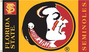 COLLEGIATE Florida State Seminoles 3' x 5' Flag