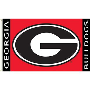 "COLLEGIATE Georgia Bulldogs ""G"" 3' x 5' Flag"