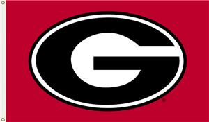 "COLLEGIATE Georgia ""G"" Only 3' x 5' Flag"