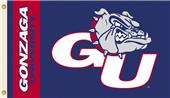 COLLEGIATE Gonzaga Bulldogs 3' x 5' Flag