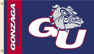 COLLEGIATE Gonzaga Bulldogs 3&#39; x 5&#39; Flag