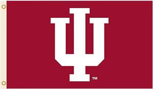 COLLEGIATE Indiana &quot;IU&quot; Only 3&#39; x 5&#39; Flag