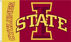 COLLEGIATE Iowa State Cyclones 3&#39; x 5&#39; Flag