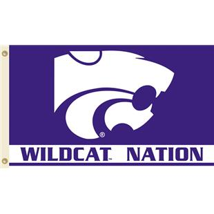 COLLEGIATE Kansas St. Wildcat Nation 3' x 5' Flag