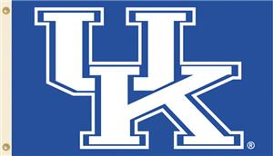 COLLEGIATE Kentucky Logo Only 3&#39; x 5&#39; Flag