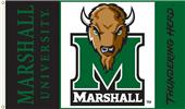 COLLEGIATE Marshall Thundering Herd 3' x 5' Flag