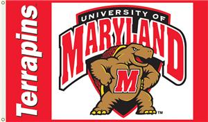 COLLEGIATE Maryland Terrapins 3&#39; x 5&#39; Flag