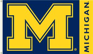 COLLEGIATE Michigan Wolverines 3' x 5' Flag