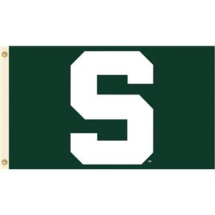 COLLEGIATE Michigan St. Logo Only 3' x 5' Flag