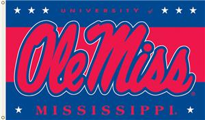 COLLEGIATE Mississippi Rebels 3&#39; x 5&#39; Flag