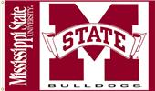 COLLEGIATE Mississippi State Bulldogs 3' x 5' Flag