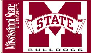 COLLEGIATE Mississippi State Bulldogs 3&#39; x 5&#39; Flag