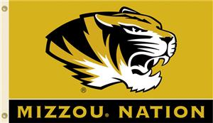 COLLEGIATE Mizzou Nation 3&#39; x 5&#39; Flag
