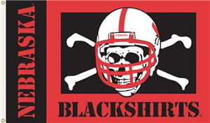 COLLEGIATE Nebraska Blackshirts 3' x 5' Flag