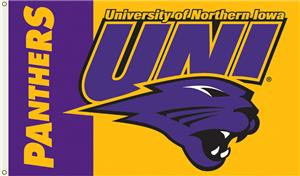 COLLEGIATE Northern Iowa 3' x 5' Flag